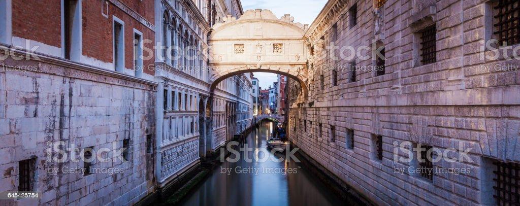 Venice - Ponte dei Sospiri stock photo
