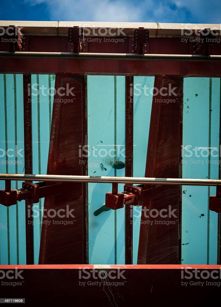 venice Ponte della Costituzione stock photo