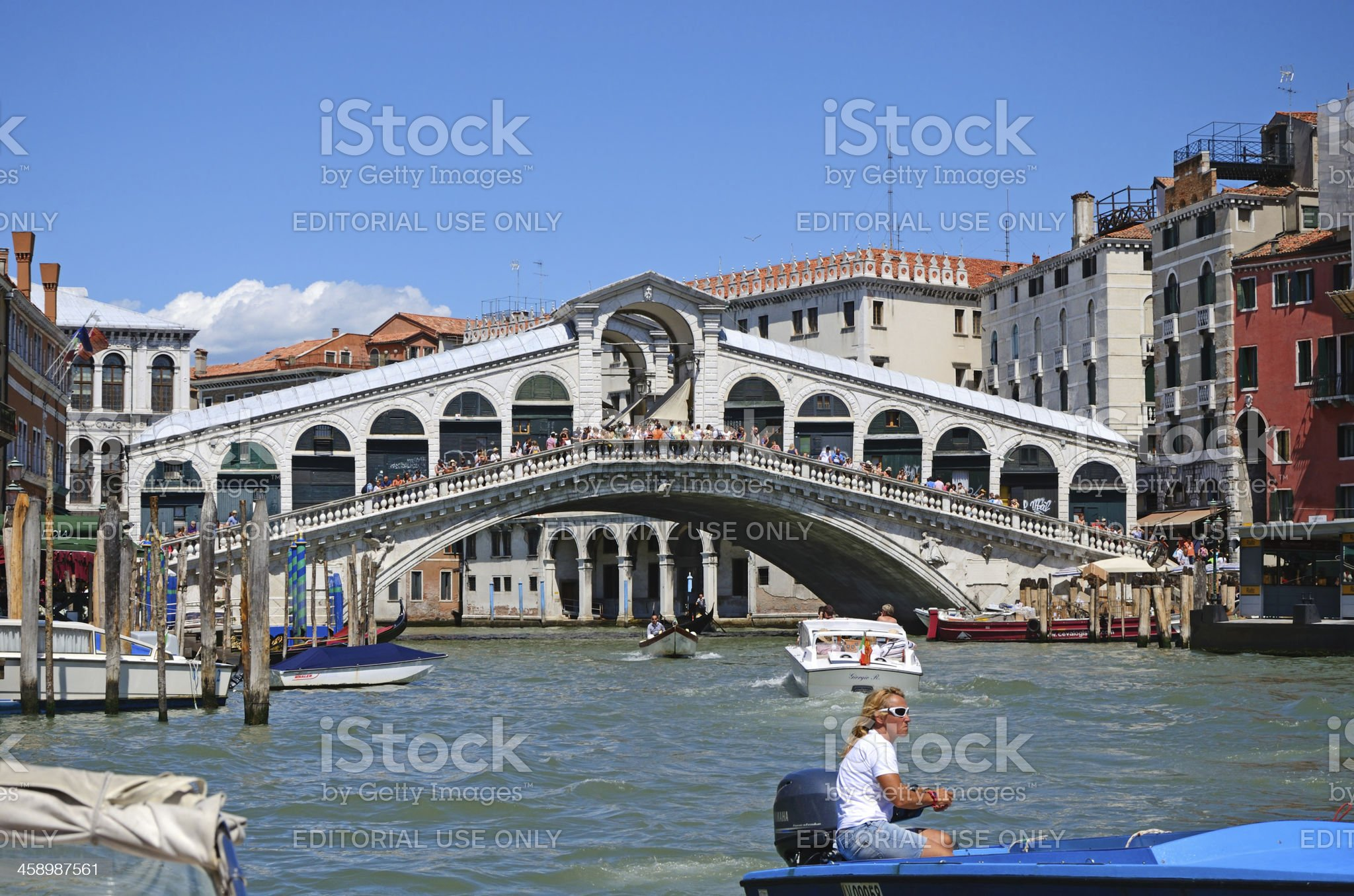 Venice - Ponte Rialto royalty-free stock photo