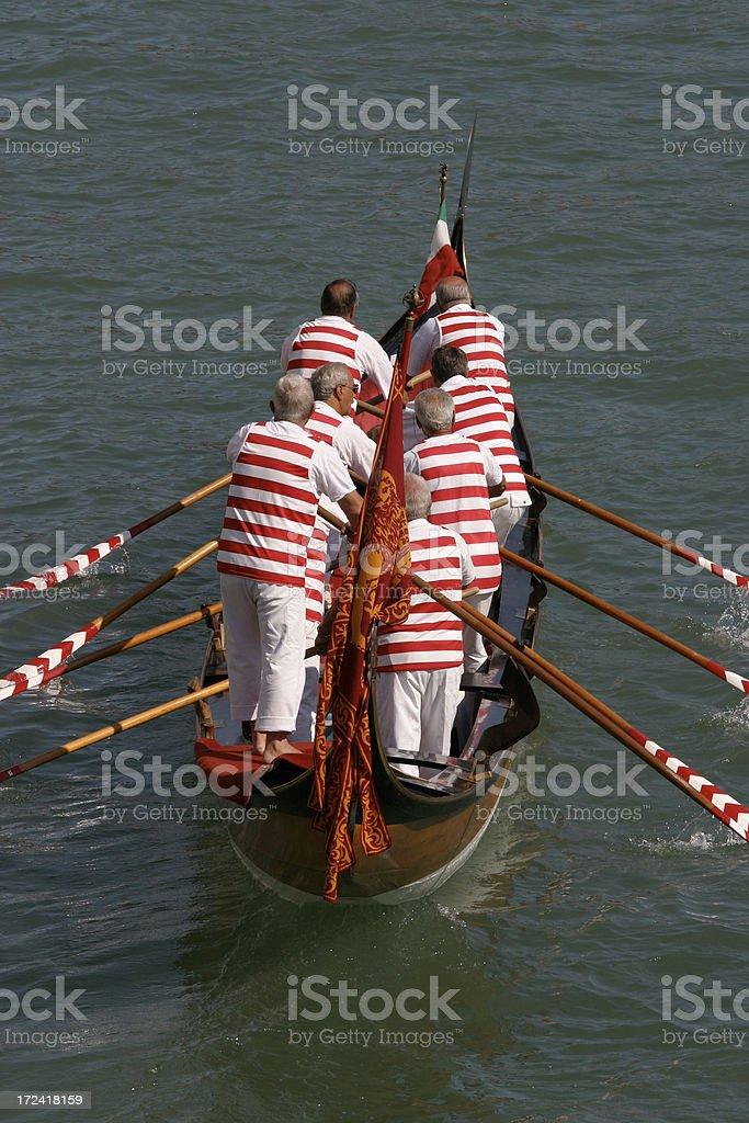 Venice Regatta royalty-free stock photo