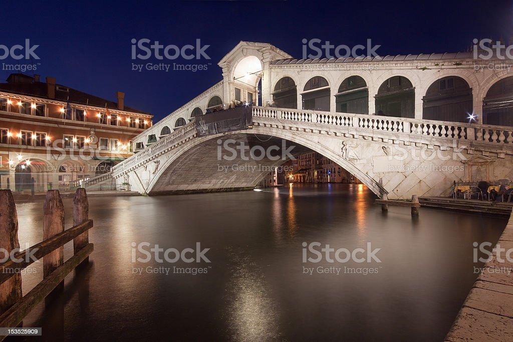 Venice - Rialto Bridge royalty-free stock photo