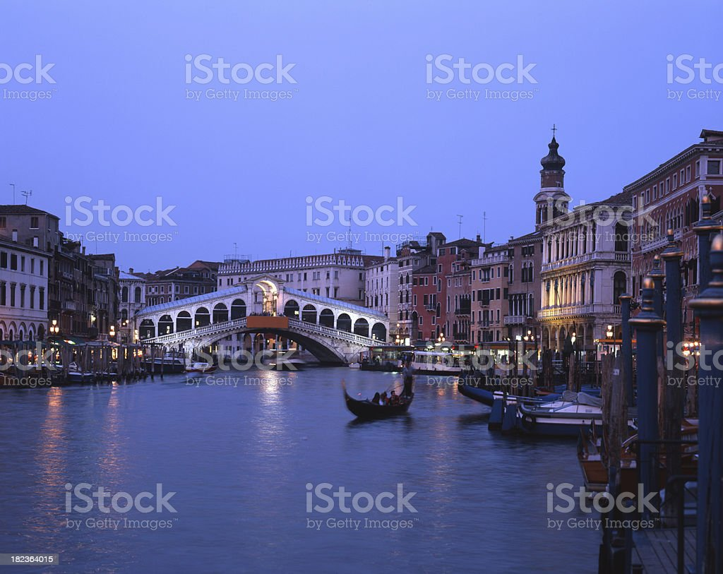 Venice, Rialto Bridge royalty-free stock photo