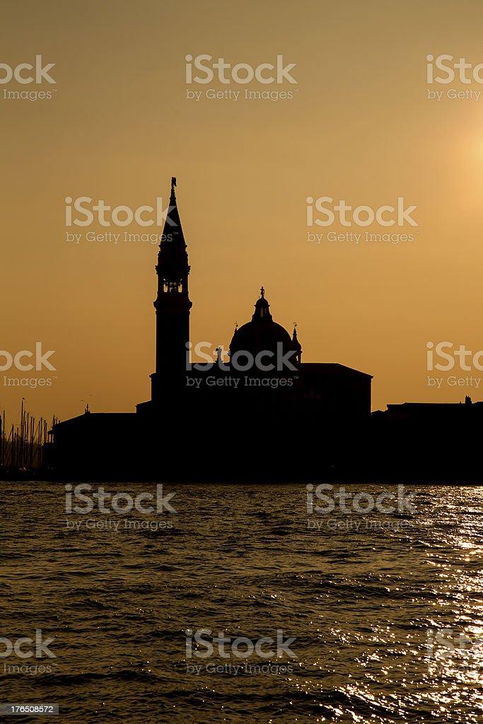 Venice - San Georgio Maggiore royalty-free stock photo