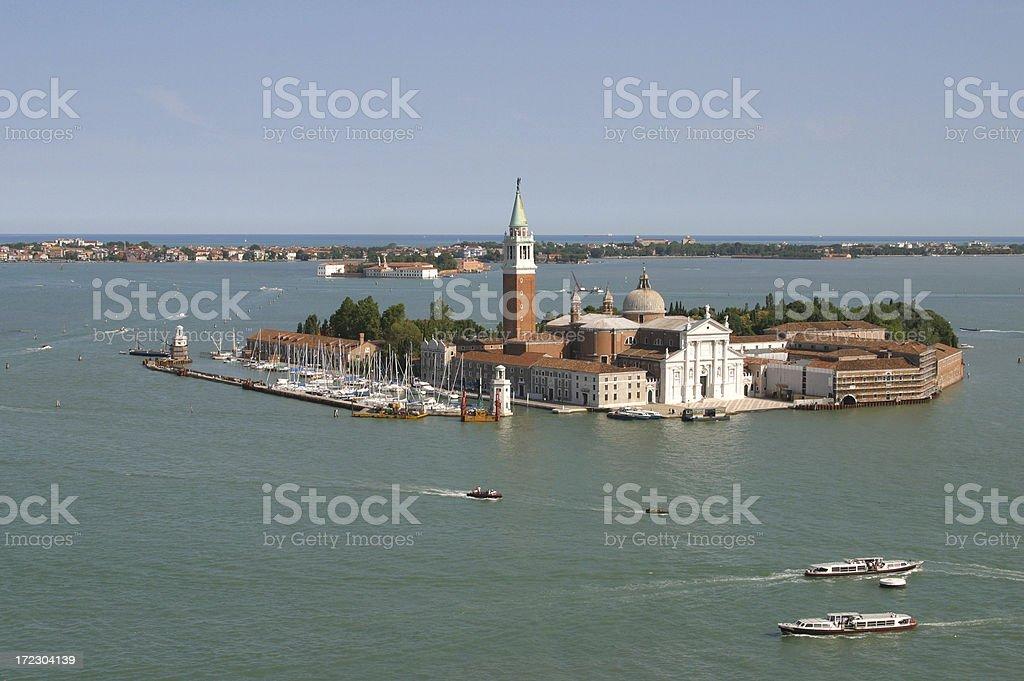 Venice - San Giorgio Maggiore. royalty-free stock photo