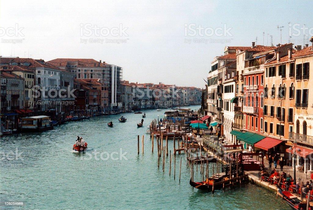 Venice Scenics - Canal Grande stock photo
