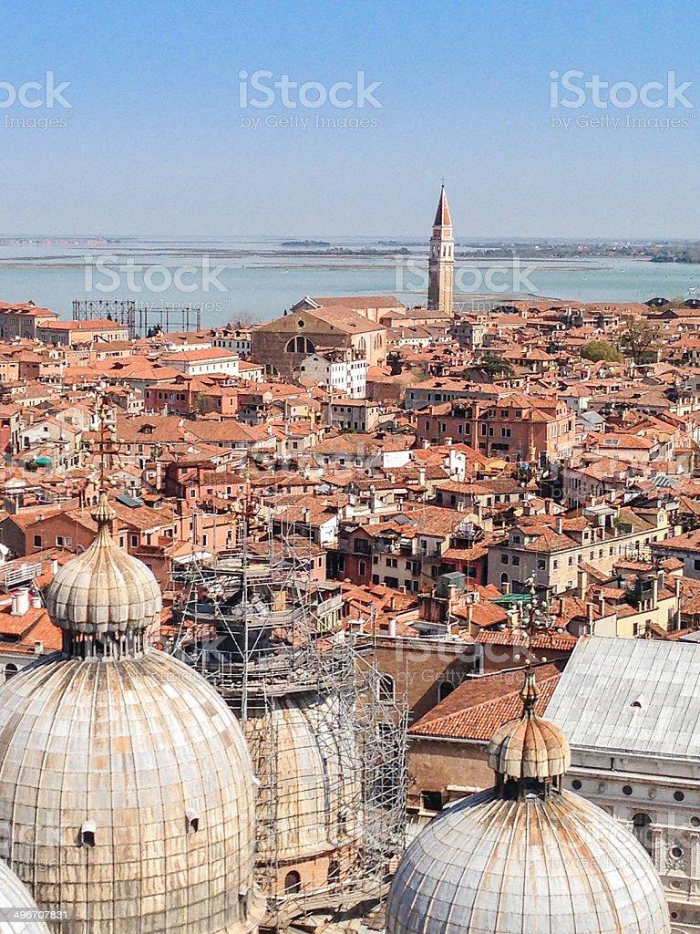 Venice skyline royalty-free stock photo