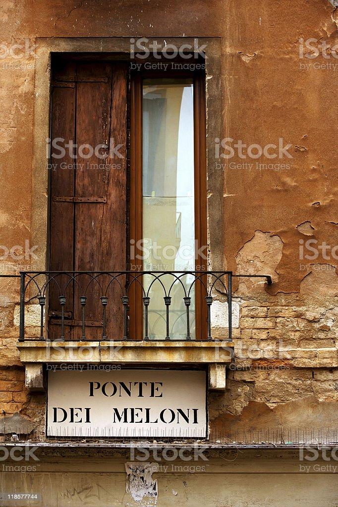 Venice street royalty-free stock photo