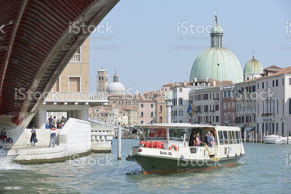 Venice tour stock photo