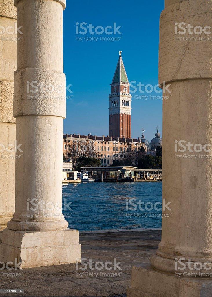 Venice - Towards St Mark's Square royalty-free stock photo