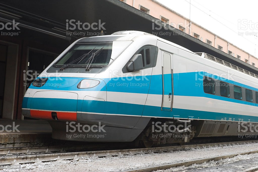 Venice Train Station stock photo