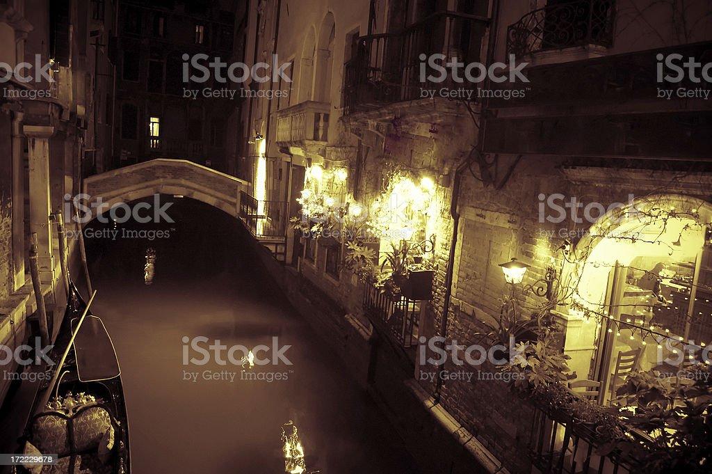 Venice Trattoria royalty-free stock photo