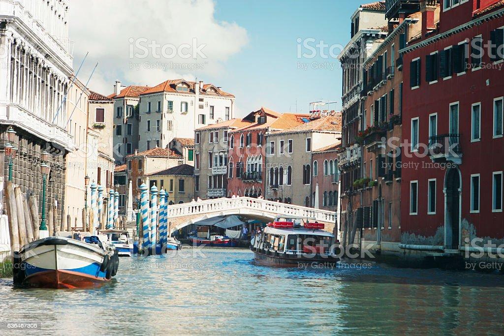 venice veneto venetian venezia vintage gondola italia italy stock photo