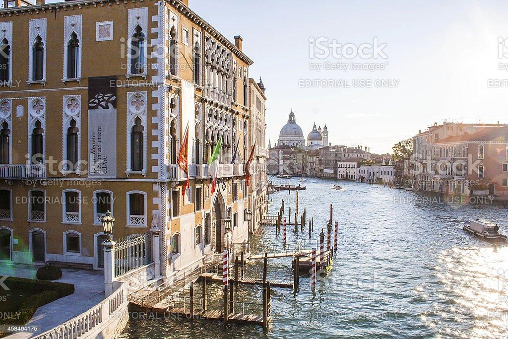 Venice View at Morning royalty-free stock photo