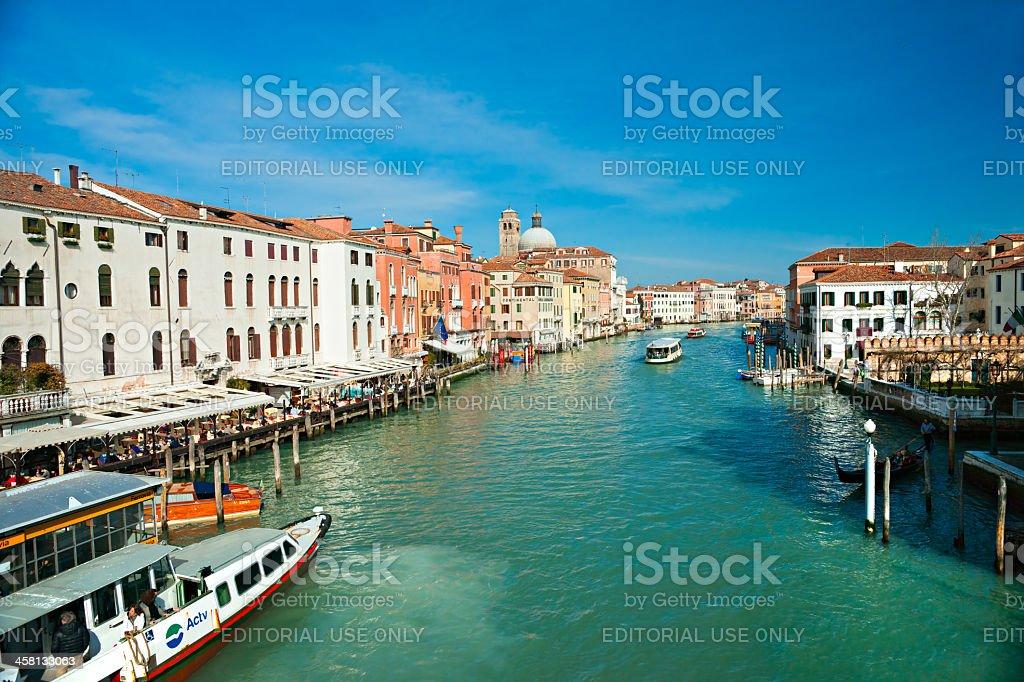 Venedig, Blick vom Rialto-Brücke, Italien. – Foto