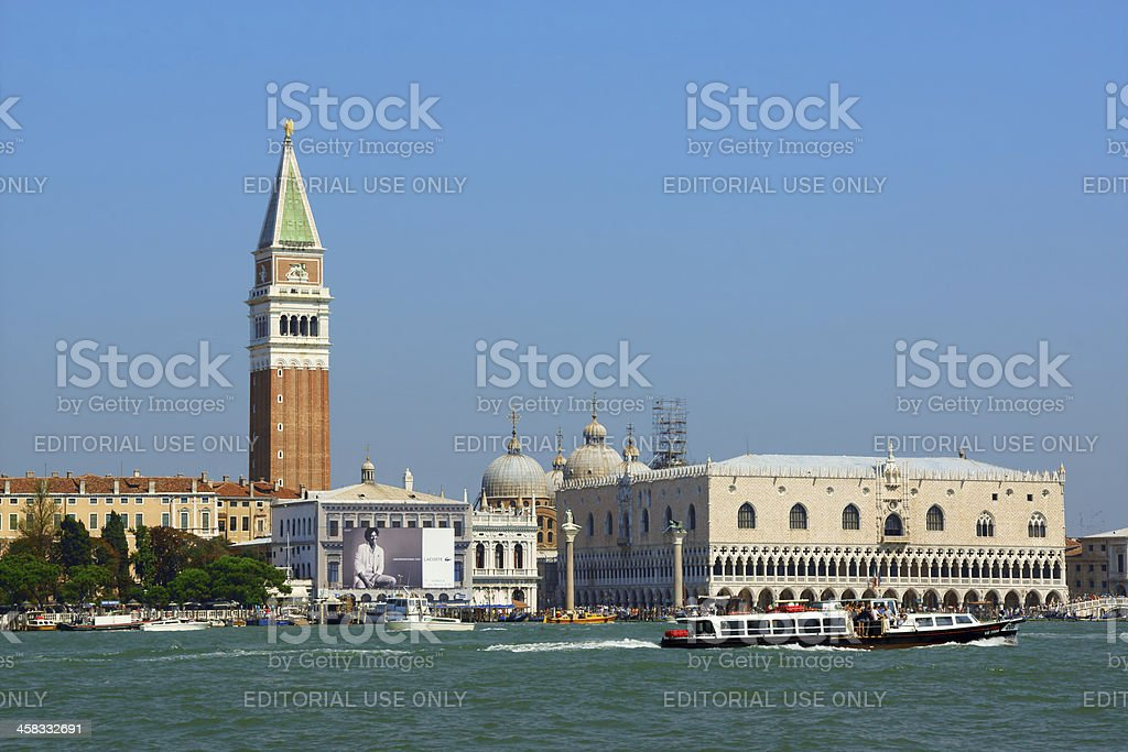 Venice view from the lagoon, Italy royalty-free stock photo