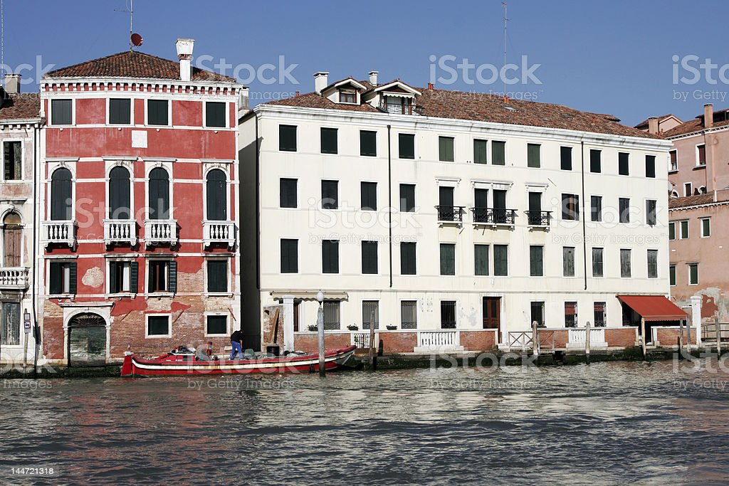 Venice Waterfront royalty-free stock photo