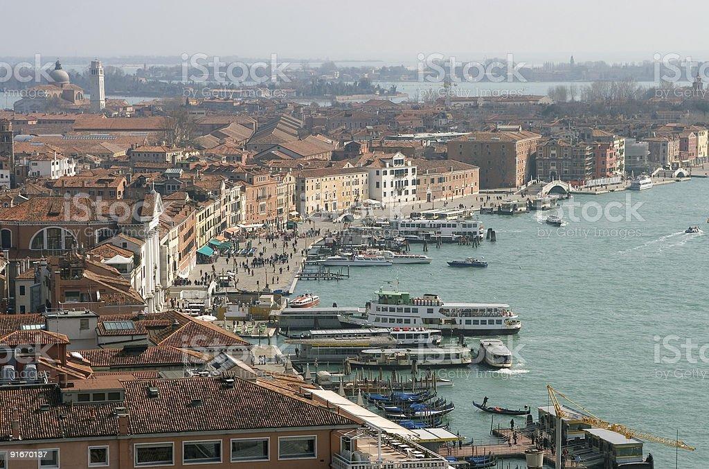 Venice Waterfront royalty-free stock photo