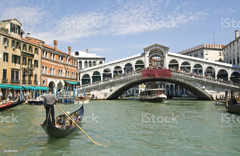 Venice's Grand Canal stock photo
