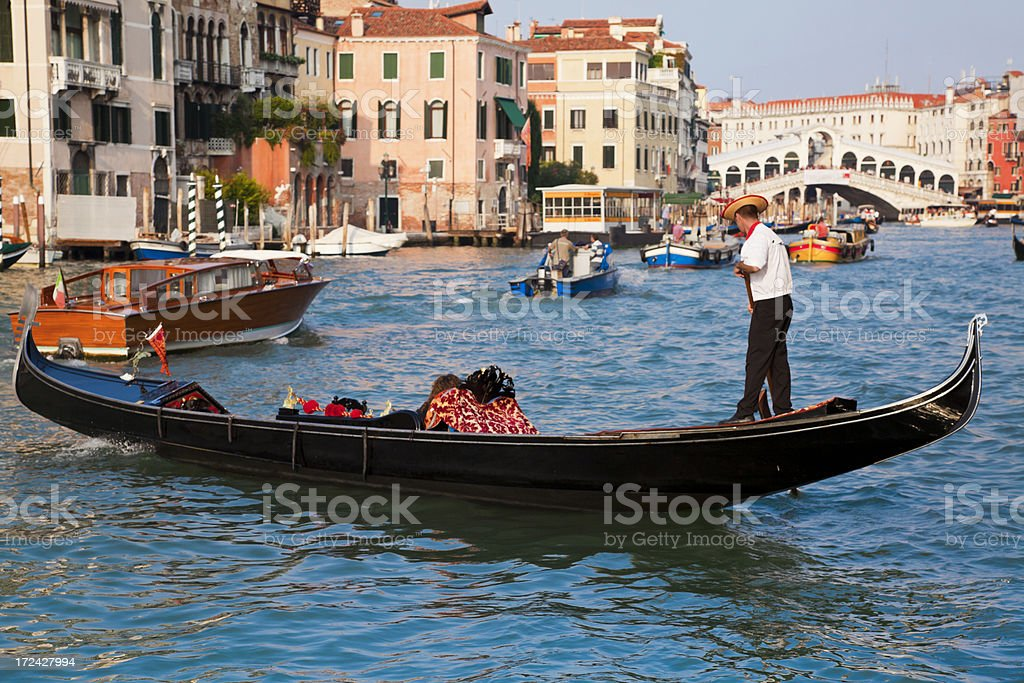 Venice's Grand Canal stock photo