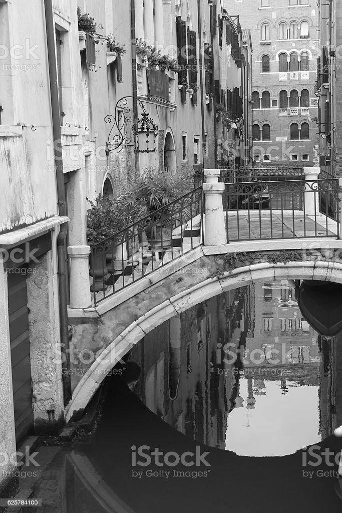Venician bridge stock photo