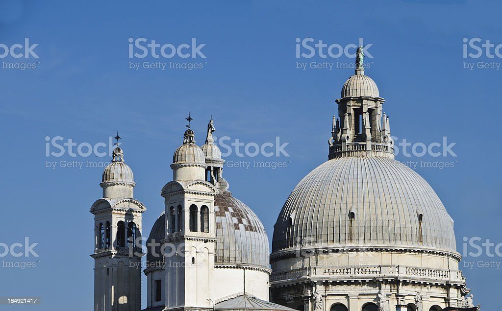 Venitian Domes and Spires stock photo