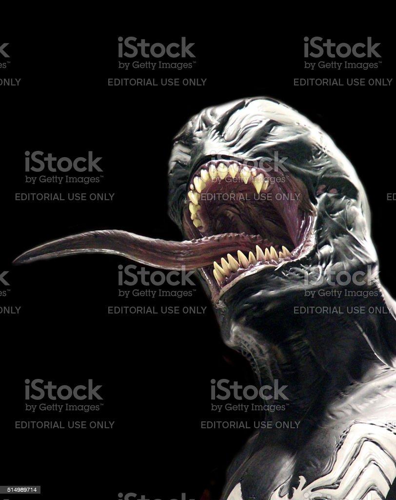 Venom stock photo