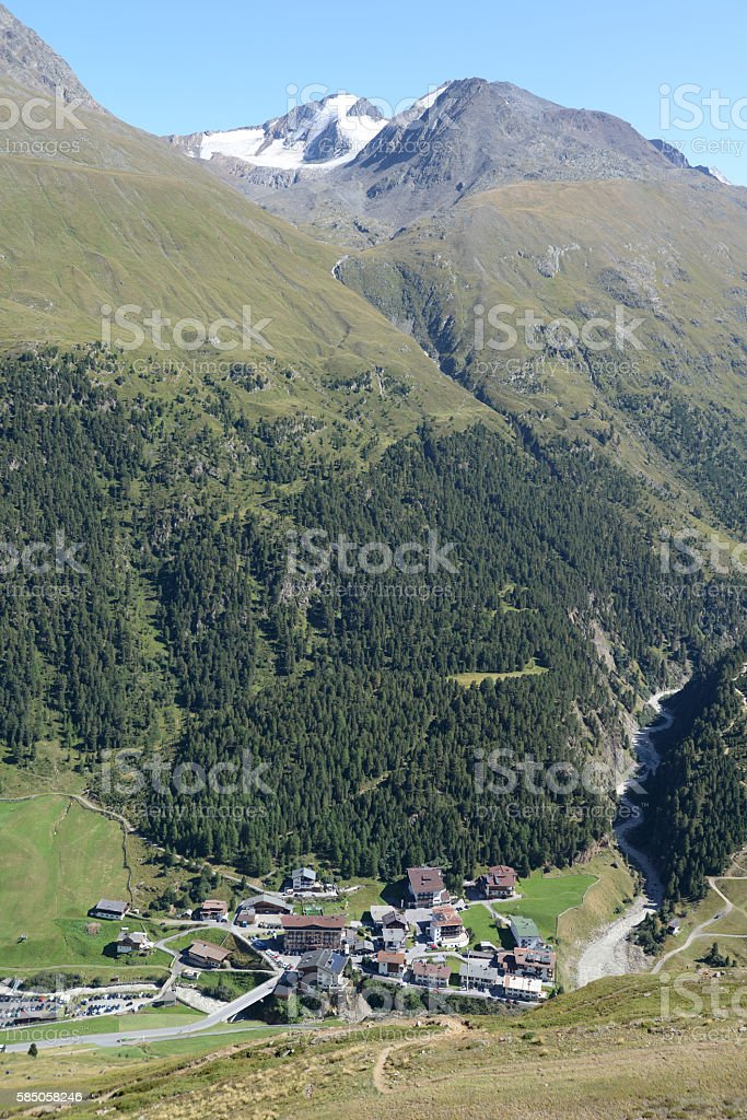 Vent, Austria stock photo
