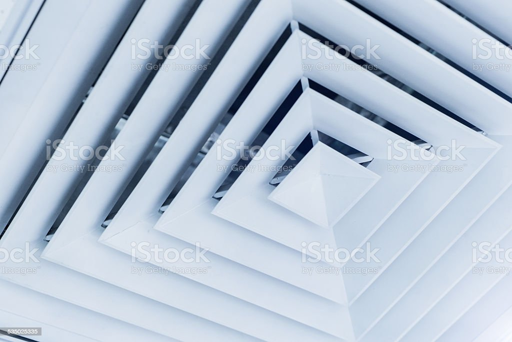 vent in the office stock photo
