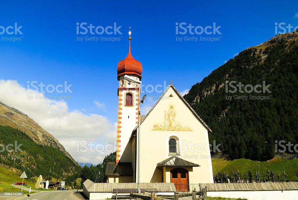 Vent (Austria) stock photo