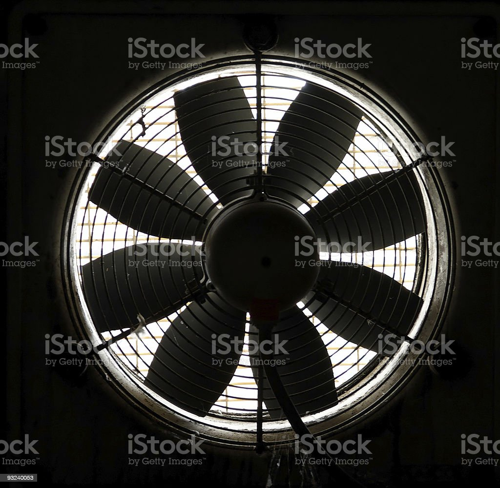 Vent Propeller royalty-free stock photo