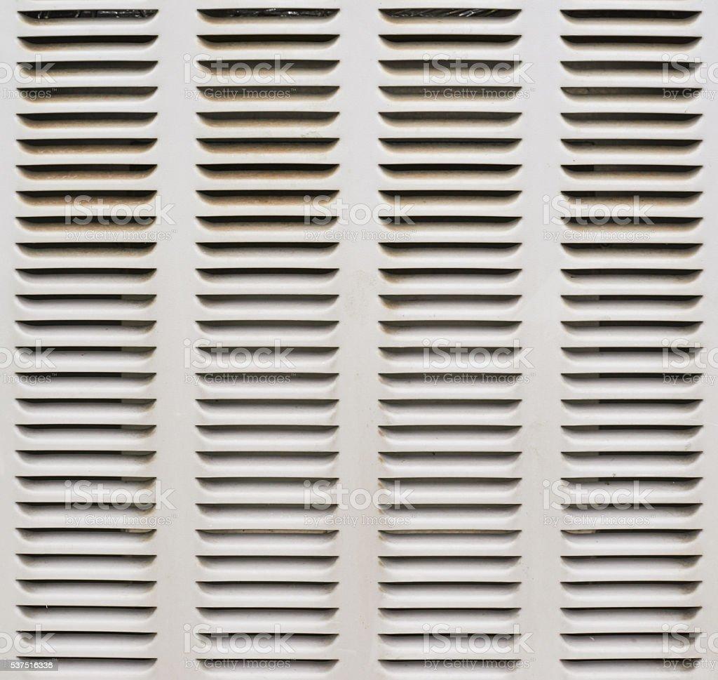 Ventilation shaft close-up stock photo