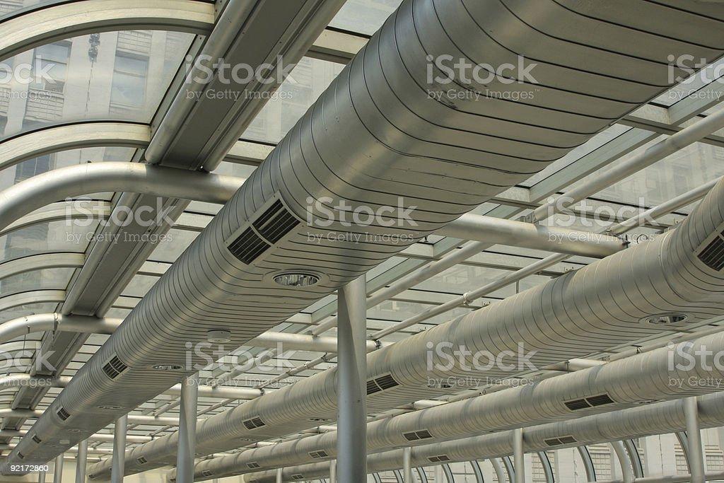 Ventilation system stock photo