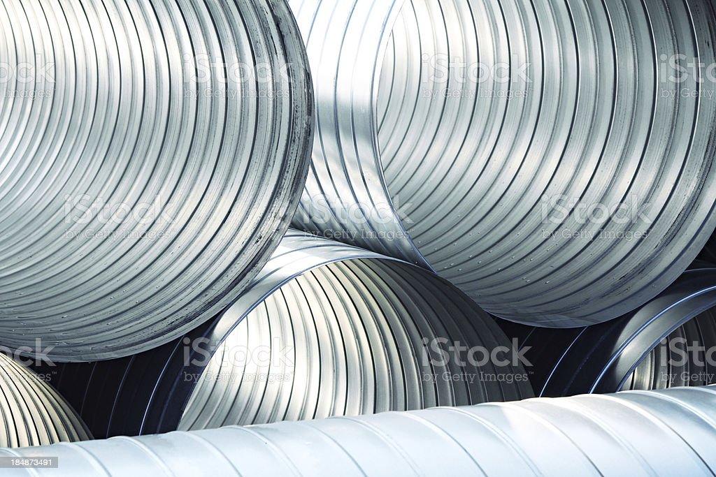 ventilation tubes stock photo