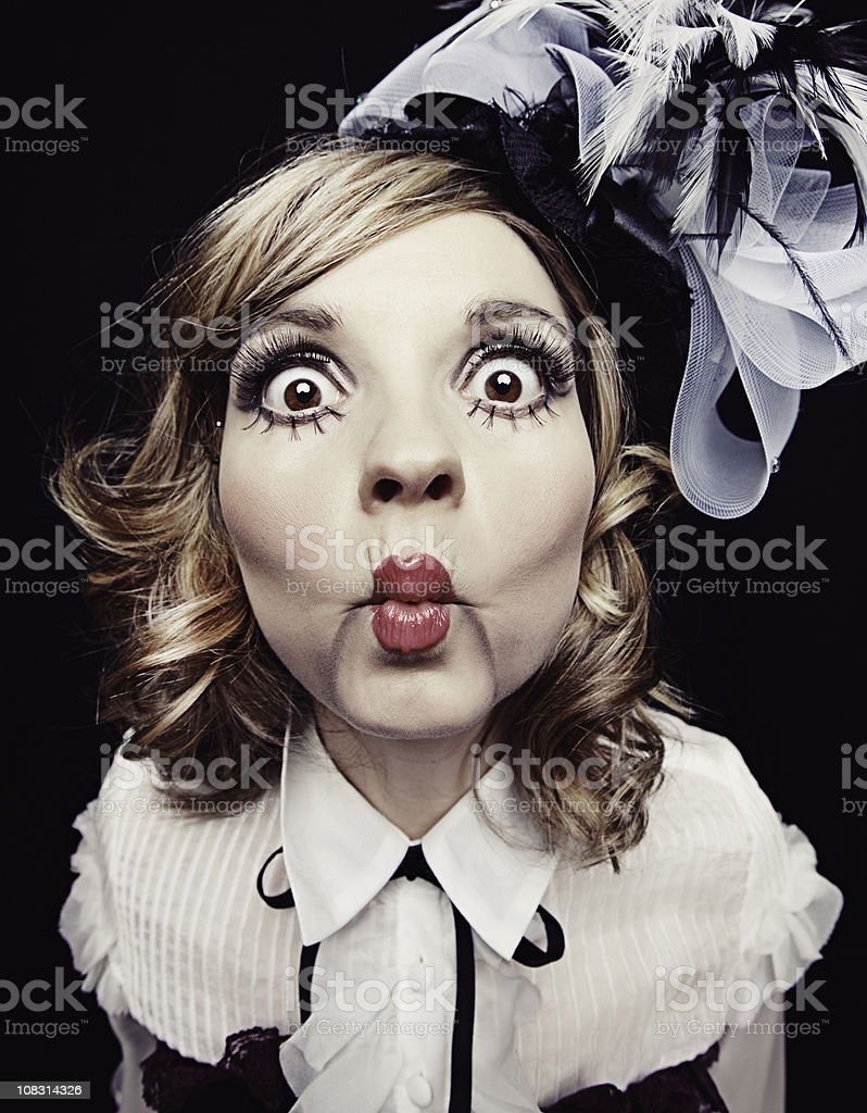 Ventriloquist Doll stock photo