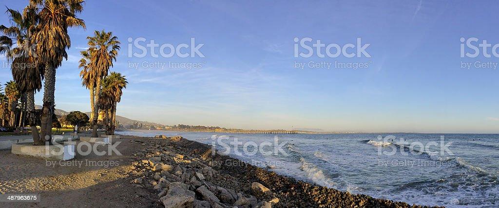 Ventura Coast, California stock photo