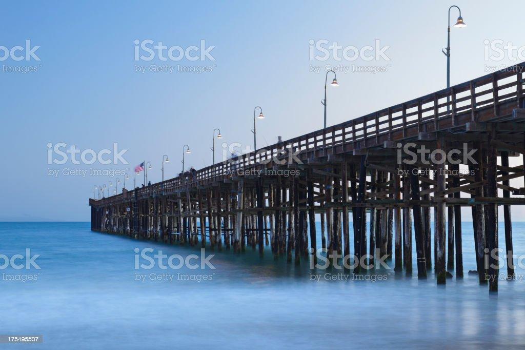 Ventura Pier stock photo