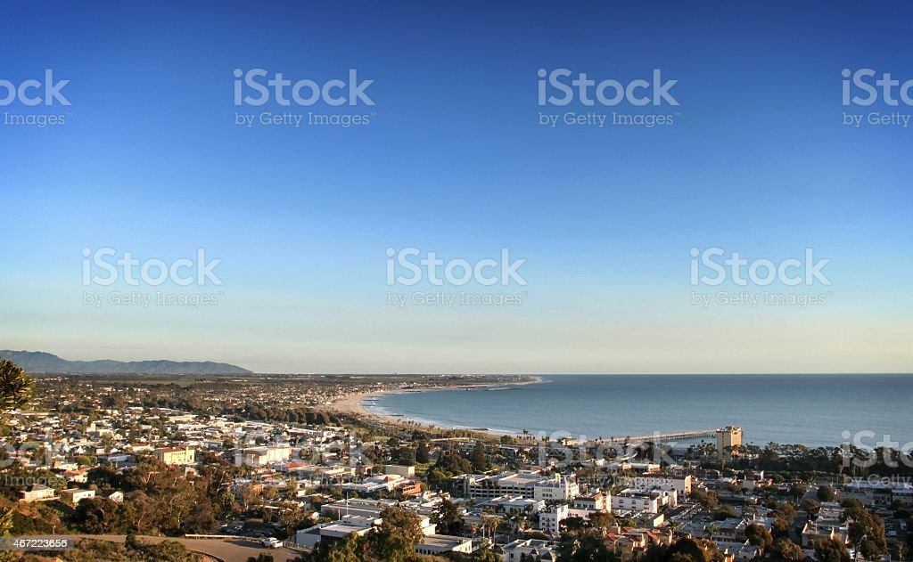 Ventura Skyline stock photo