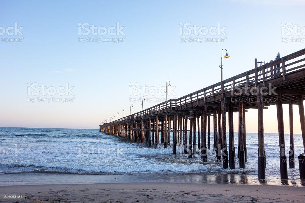 Ventura Wooden Pier, CA stock photo