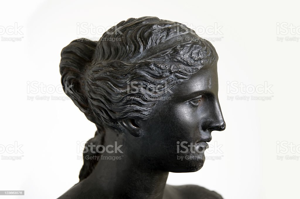 Venus de Milo in black royalty-free stock photo