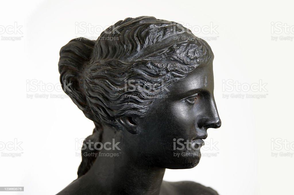 Venus de Milo in black stock photo