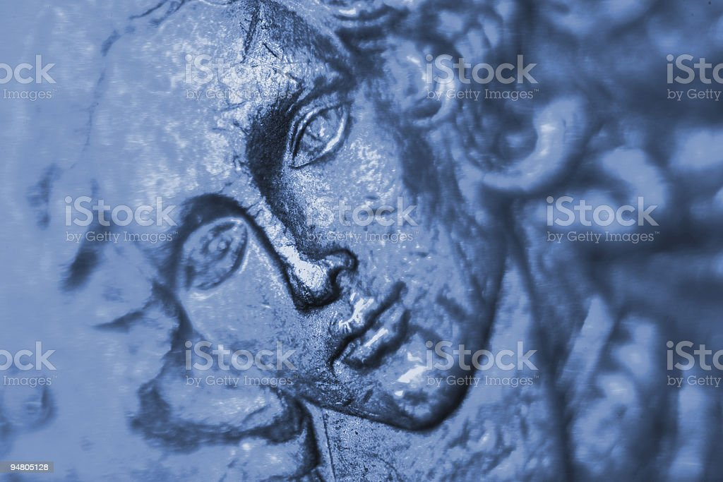 venus in blue royalty-free stock photo