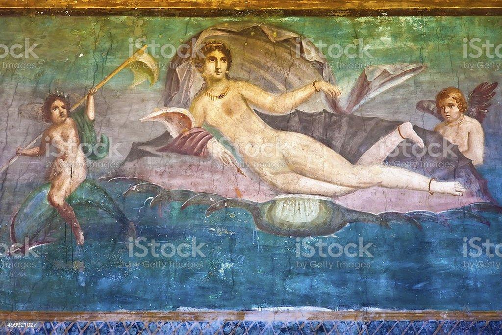 Venus in Pompeii stock photo