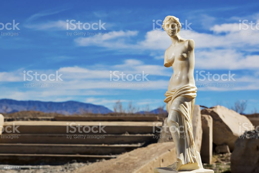 Venus in the Ruins royalty-free stock photo