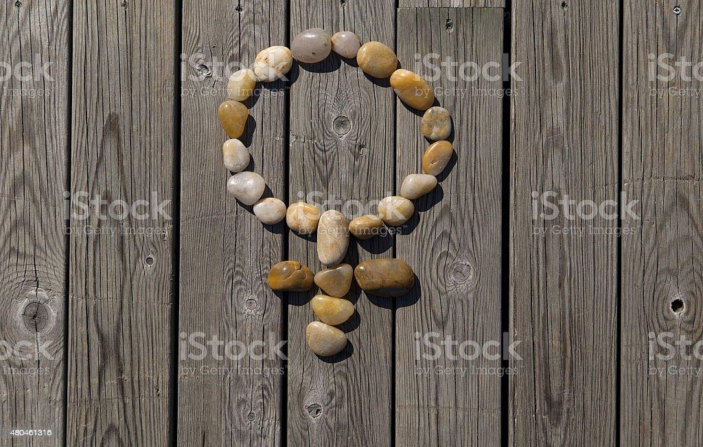 venus on a pier royalty-free stock photo