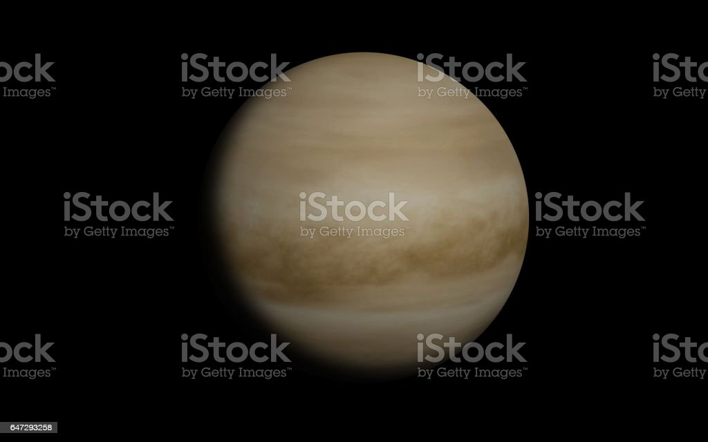 Venus planet stock photo