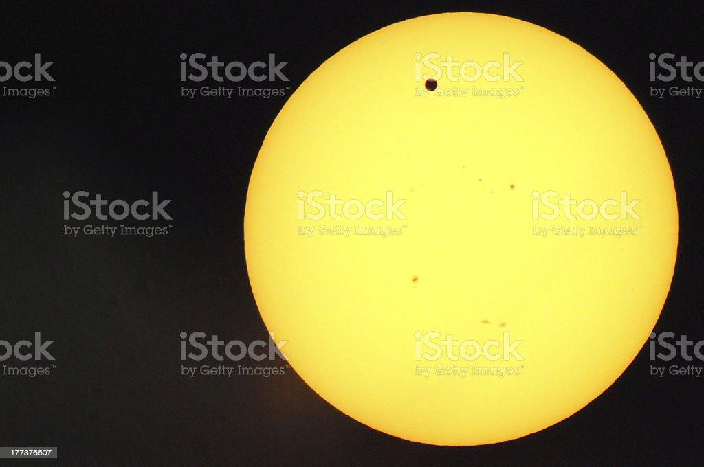Venus transit royalty-free stock photo