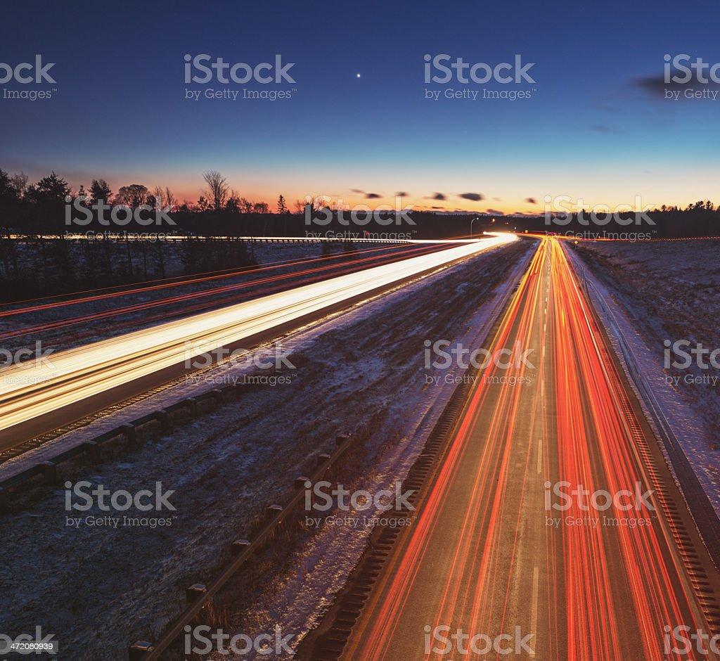 Venusian Highway stock photo