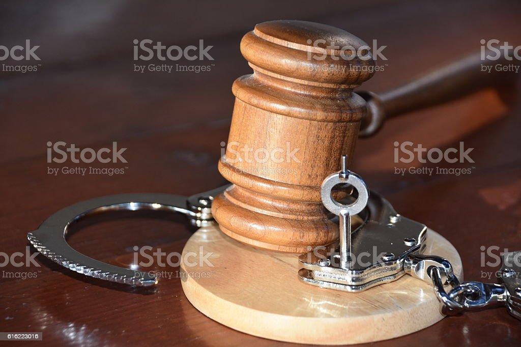 Verdict - Innocent stock photo