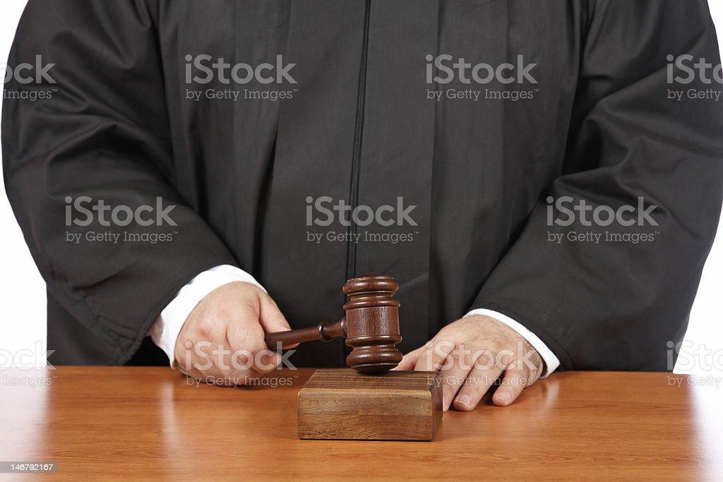 Verdict royalty-free stock photo