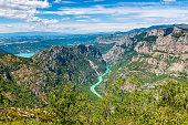 Verdon Gorge in South-Eastern France